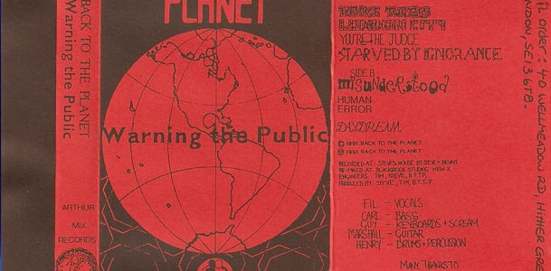 Warning the Public Cassette LP