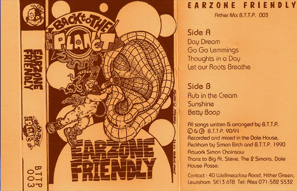 Earzone Friendly Cassette LP
